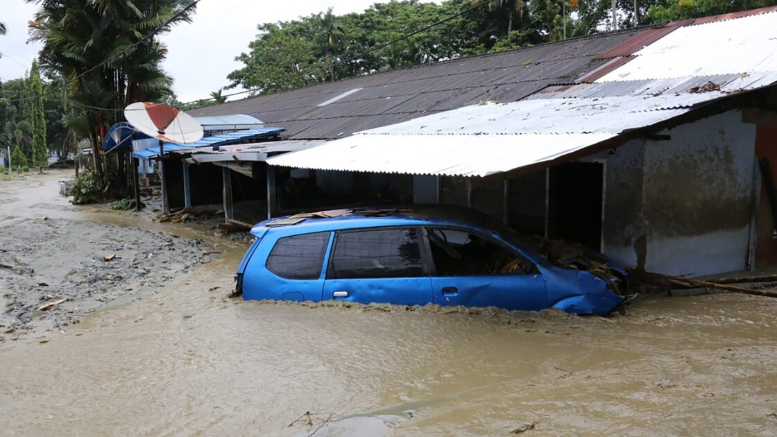 Indonésie: le bilan des inondations porté à 89 morts