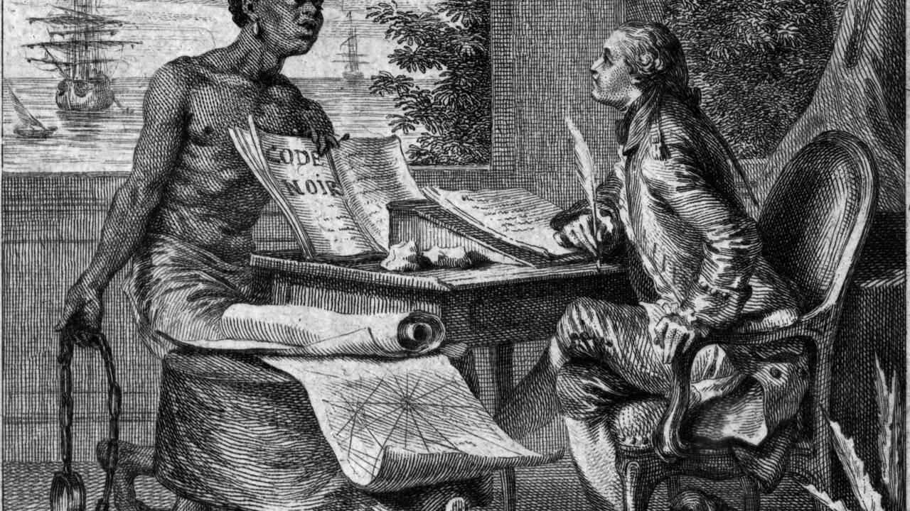 Esclavage : le Code noir, un progrès ?
