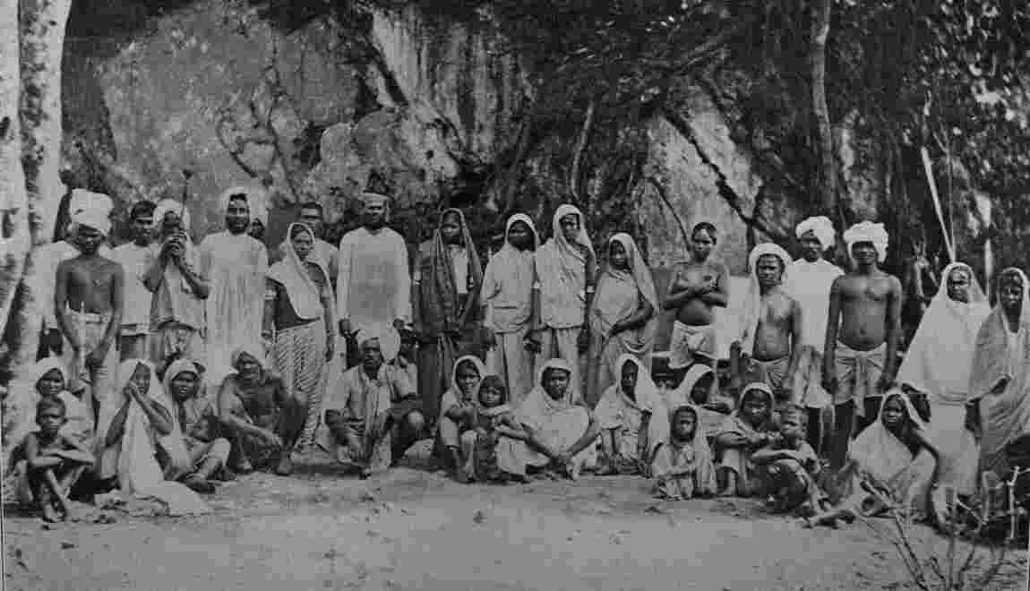 """1853 : quand les premiers """"coolies"""" indiens débarquèrent dans les Antilles"""