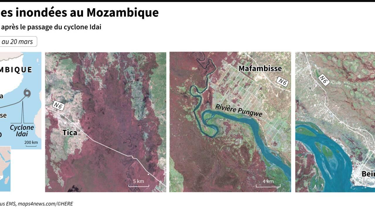 Cyclone en Afrique australe: des milliers encore à secourir
