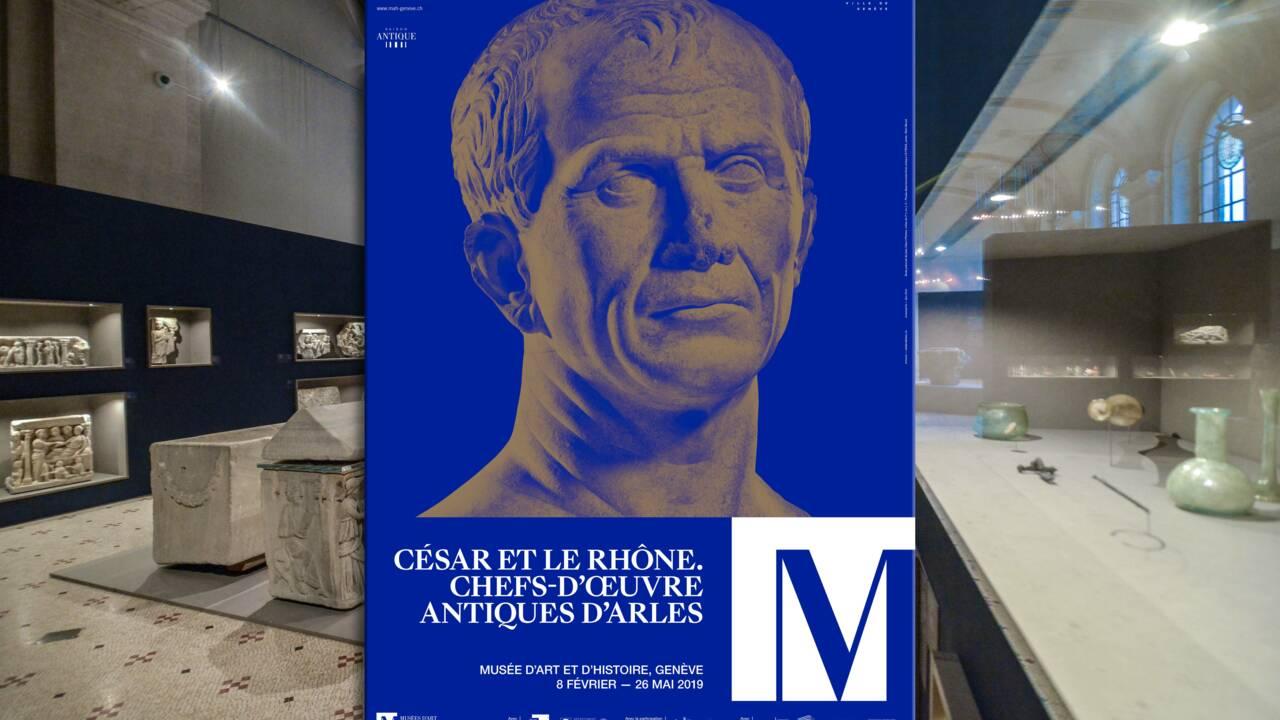 La tête de Jules César est en Suisse !