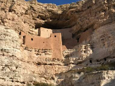 Ces ruines de l'Arizona laissées par les ancêtres des tribus amérindiennes