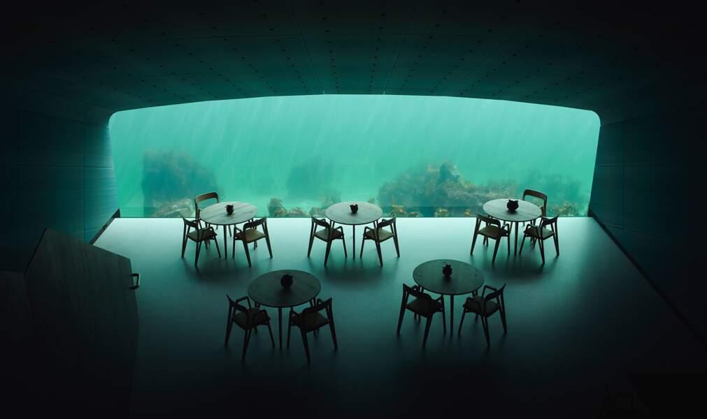 Le premier restaurant sous-marin d'Europe