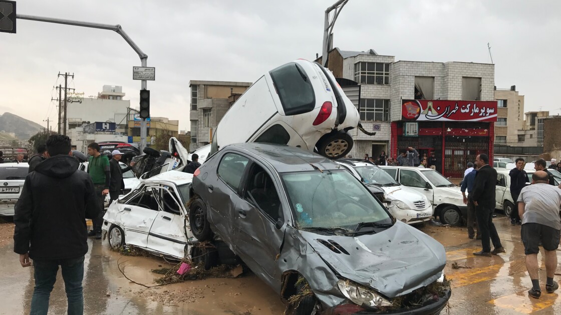 En Iran, des inondations d'une rare ampleur font au moins 19 morts