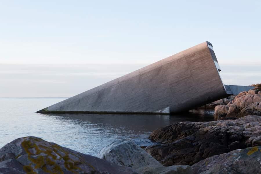 Un restaurant dans la mer du Nord