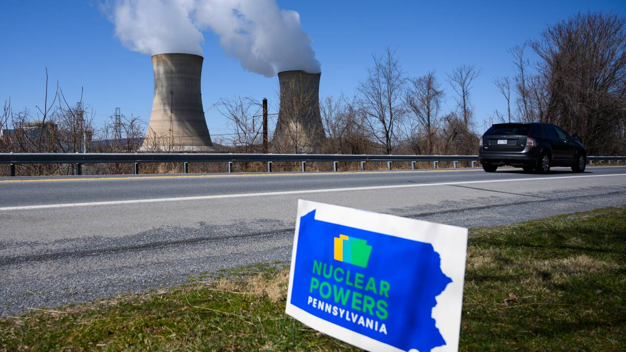 Les vieux démons nucléaires hantent toujours Three Mile Island