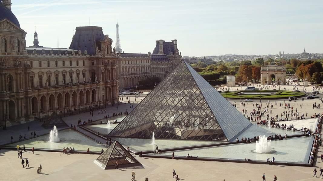 1 - Le musée du Louvre, Paris (France)