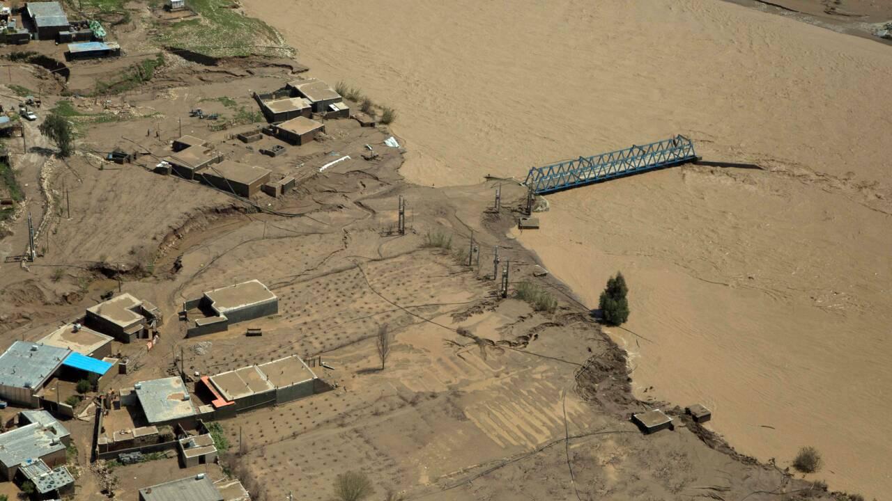 Le bilan des inondations en Iran s'élève à 62 morts