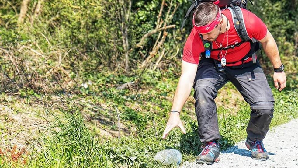 Ce jeune Français va parcourir 6000 km à pied à travers l'Europe en ramassant des déchets