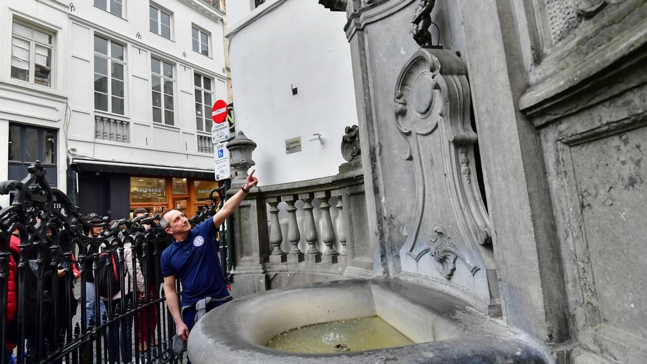 """Le Manneken-Pis, symbole de Bruxelles, """"eco-responsable"""" et sans fuite"""