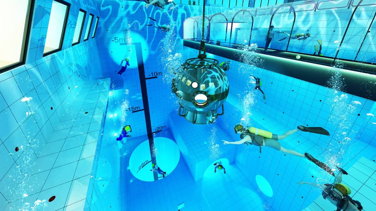 En Pologne, on construit la piscine la plus profonde du monde