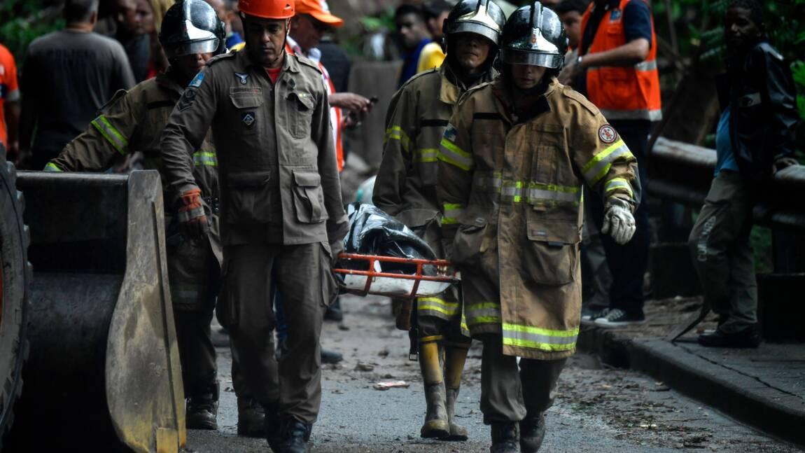 Brésil : des pluies torrentielles font au moins dix morts à Rio