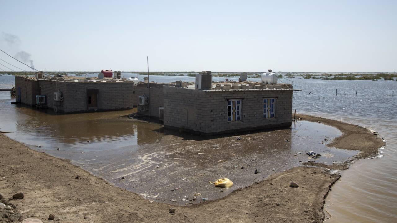 En Irak, des niveaux d'eau inédits font redouter plus de dégâts