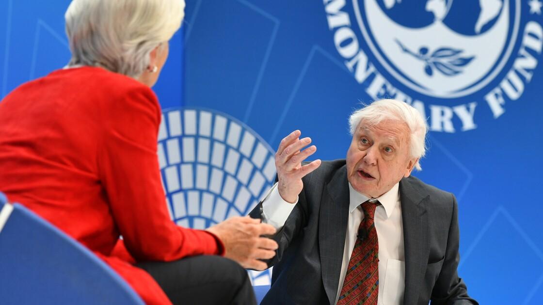 """L'humanité gâche le """"capital"""" naturel de la planète, selon David Attenborough"""