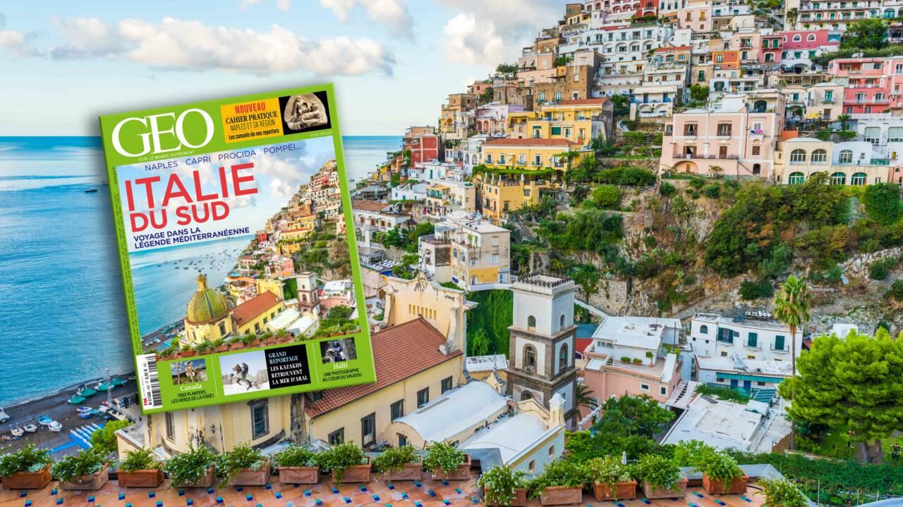 L'Italie du Sud dans le nouveau magazine GEO