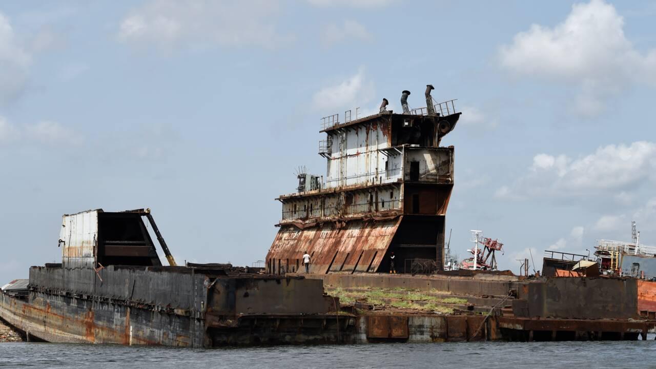 Le cimetière marin de Lagos, au coeur de tous les trafics