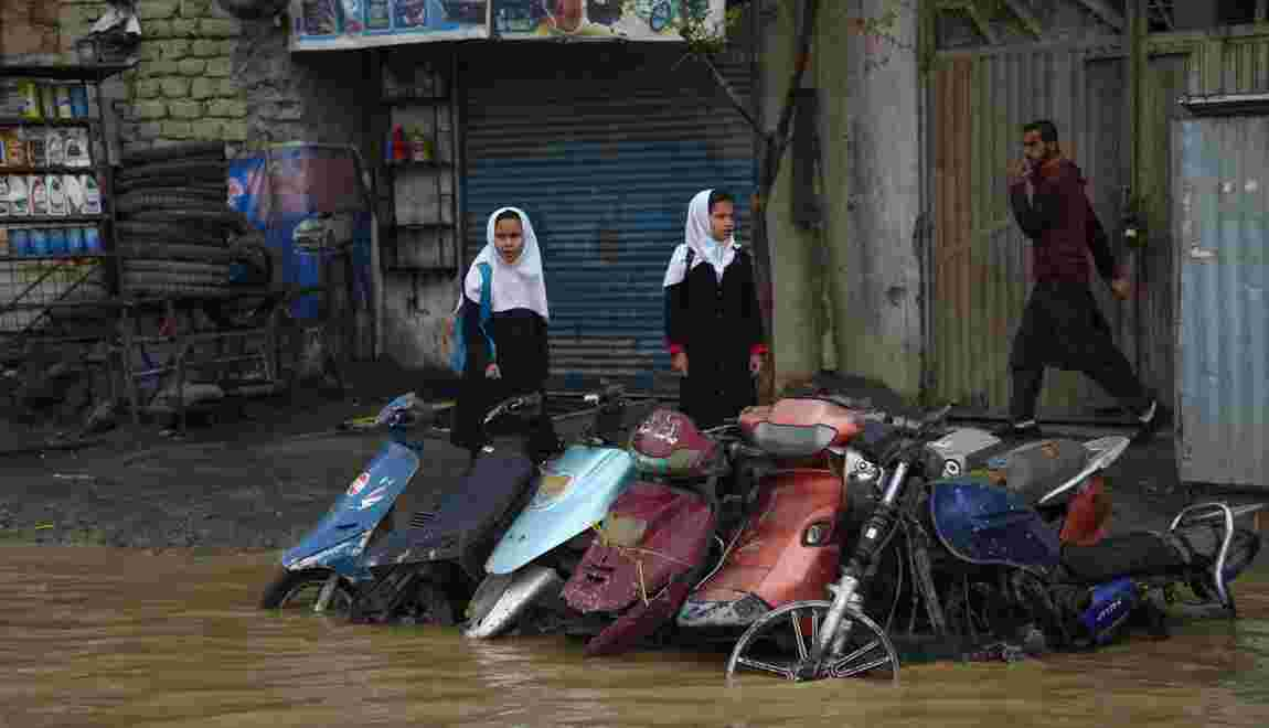 Après une intense sécheresse, des pluies diluviennes en Afghanistan