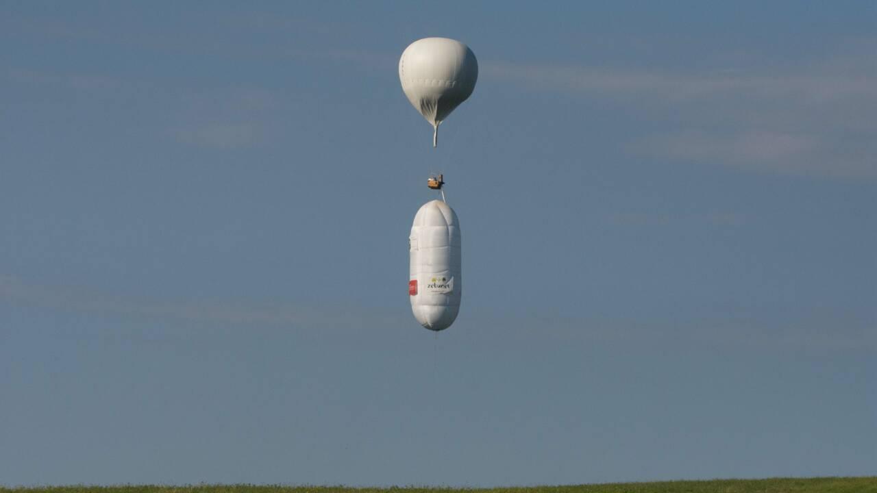 Zephalto, le premier aéronef bientôt capable de voler sans interruption et sans carburant