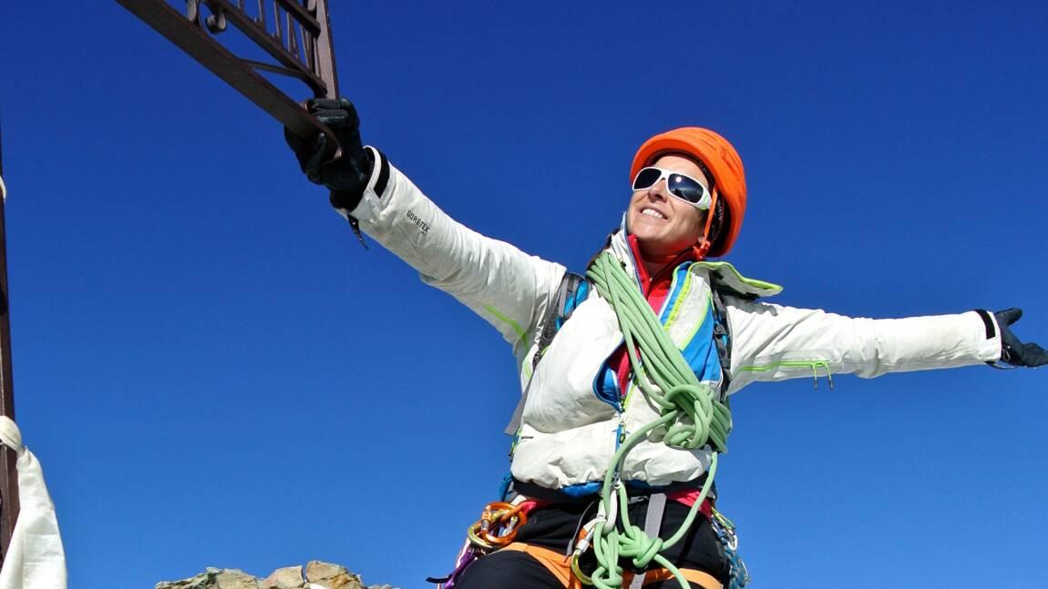 Marion Poitevin, l'alpiniste qui a conquis les bastions masculins