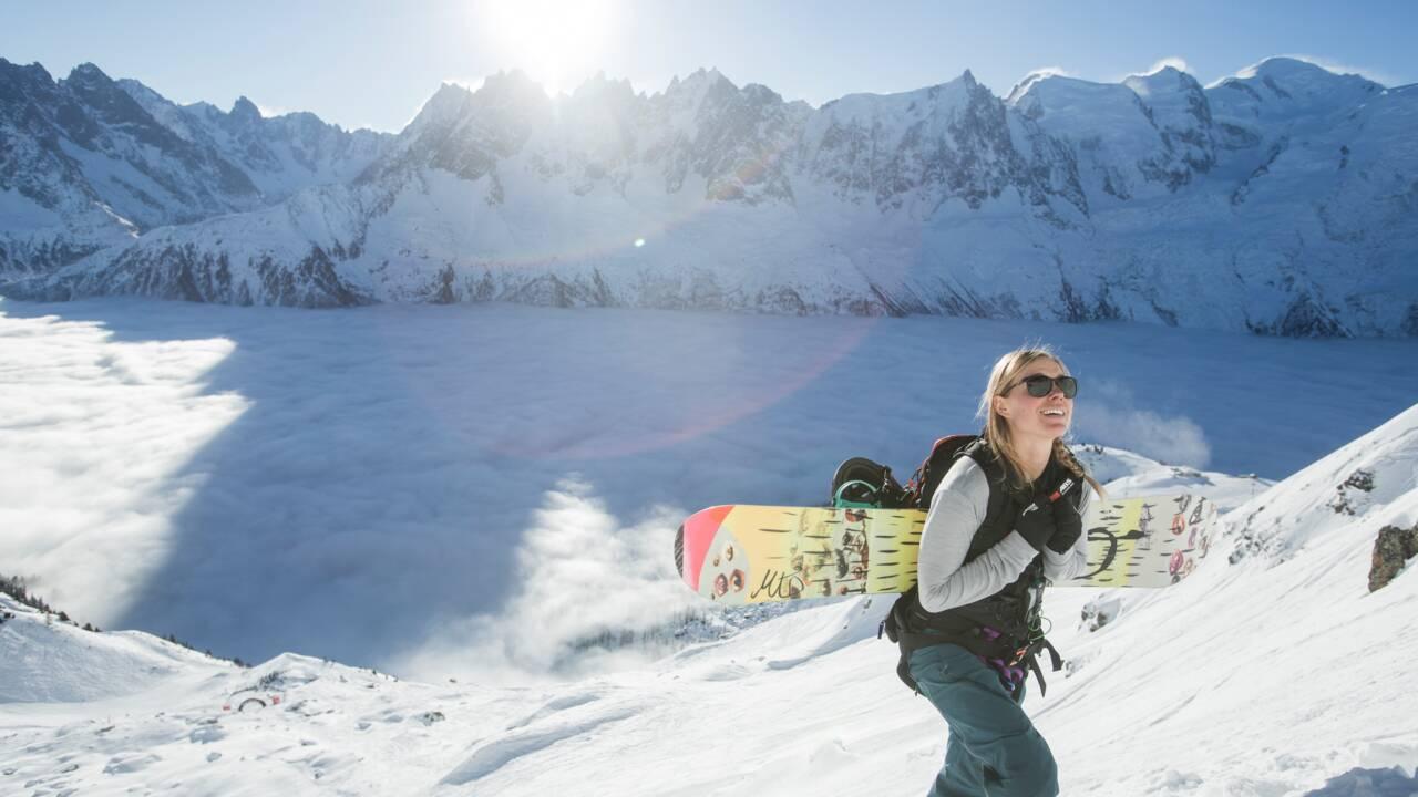 Anne-Flore Marxer, la snowboardeuse qui se bat pour imposer la parité