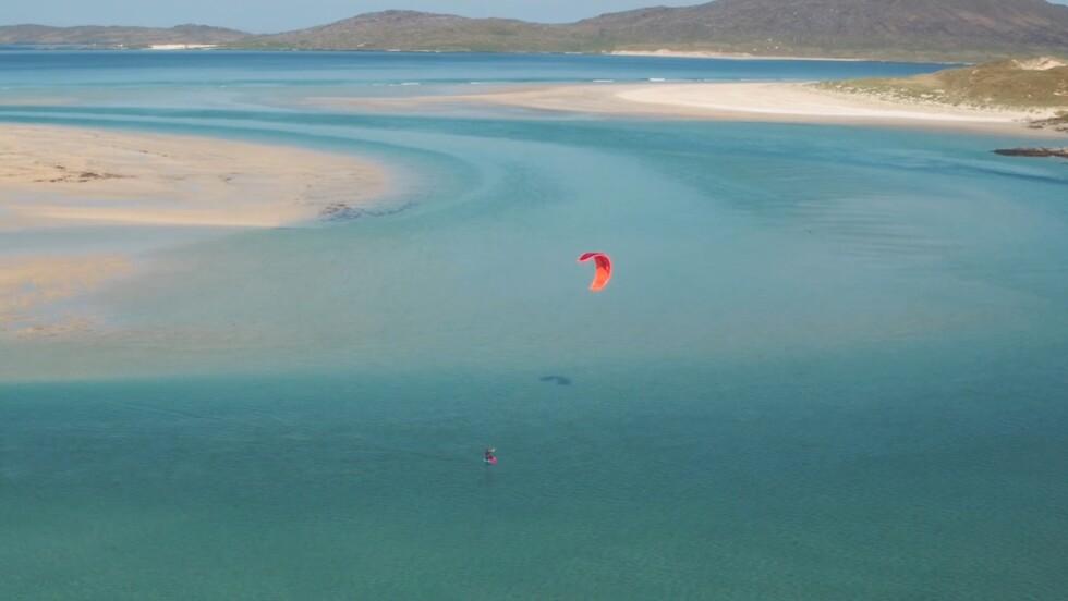 Ecosse : virée magique en kitesurf dans les îles Hébrides