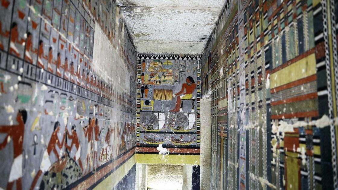 Les archéologues découvrent une tombe vieille de 4.000 ans très bien préservée en Egypte
