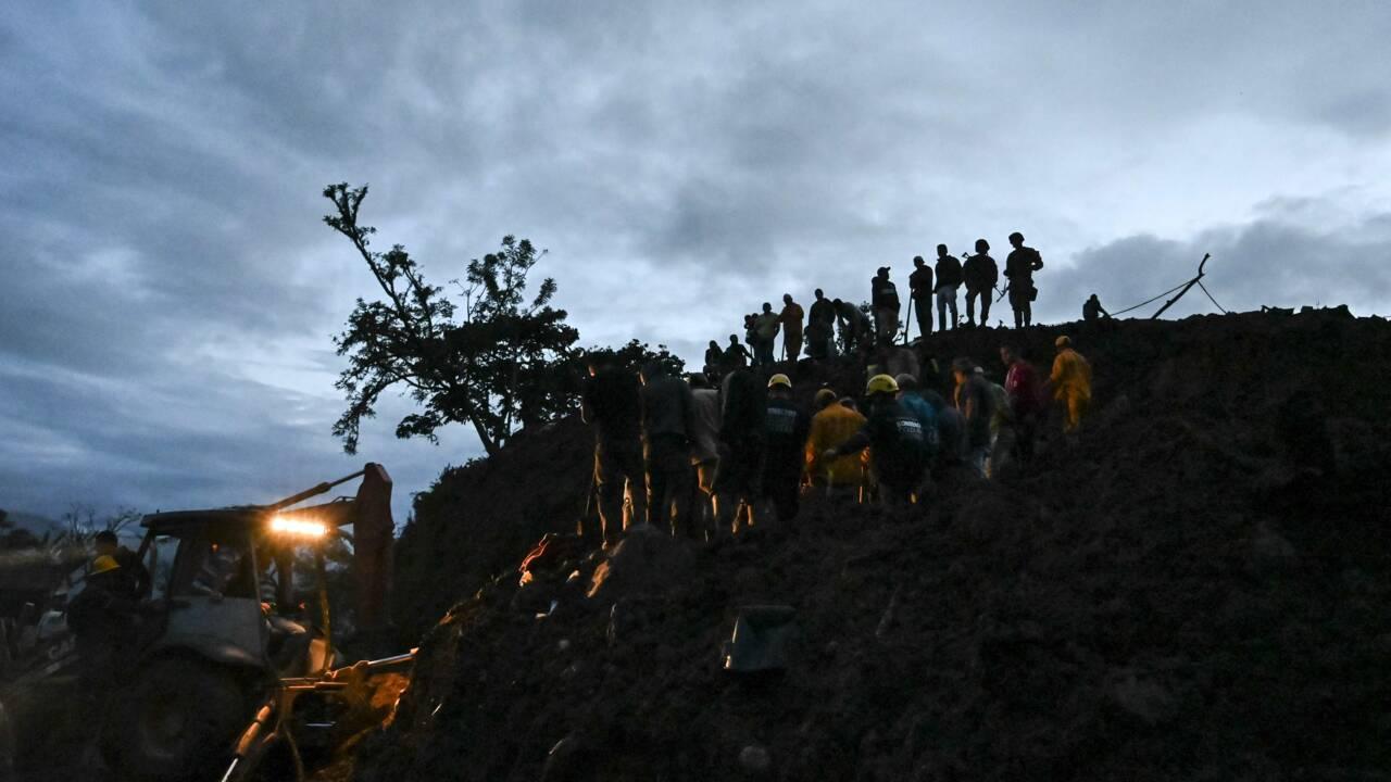 Glissement de terrain en Colombie: au mois 17 morts, 13 disparus