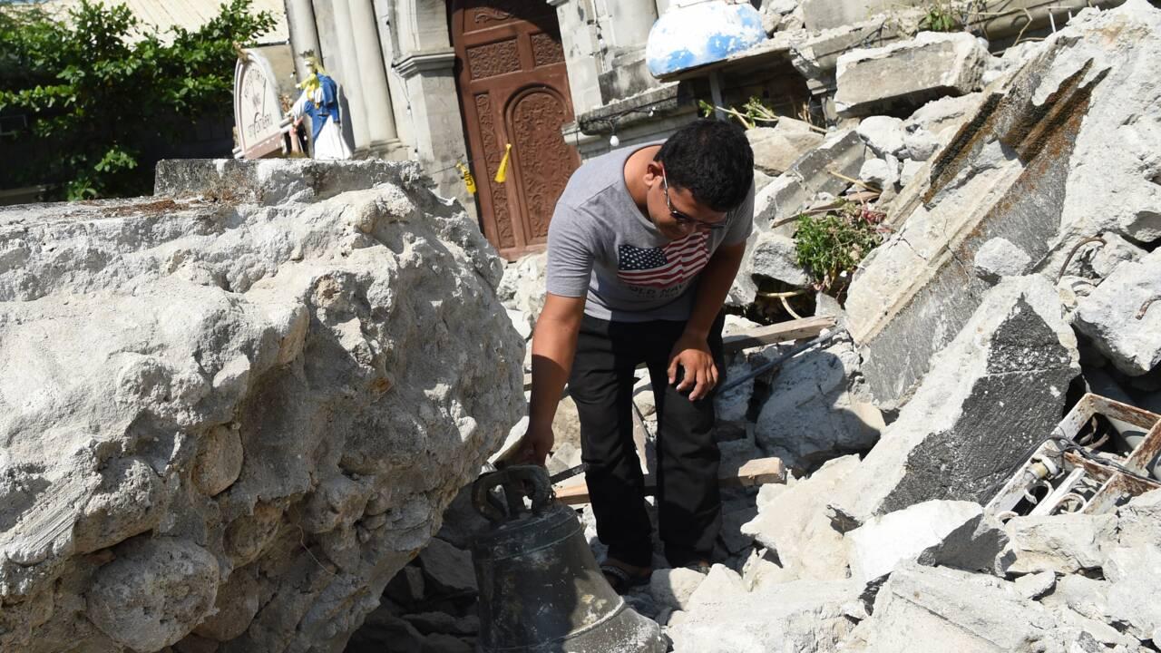 La terre tremble encore aux Philippines, au lendemain d'un séisme qui a fait 16 morts