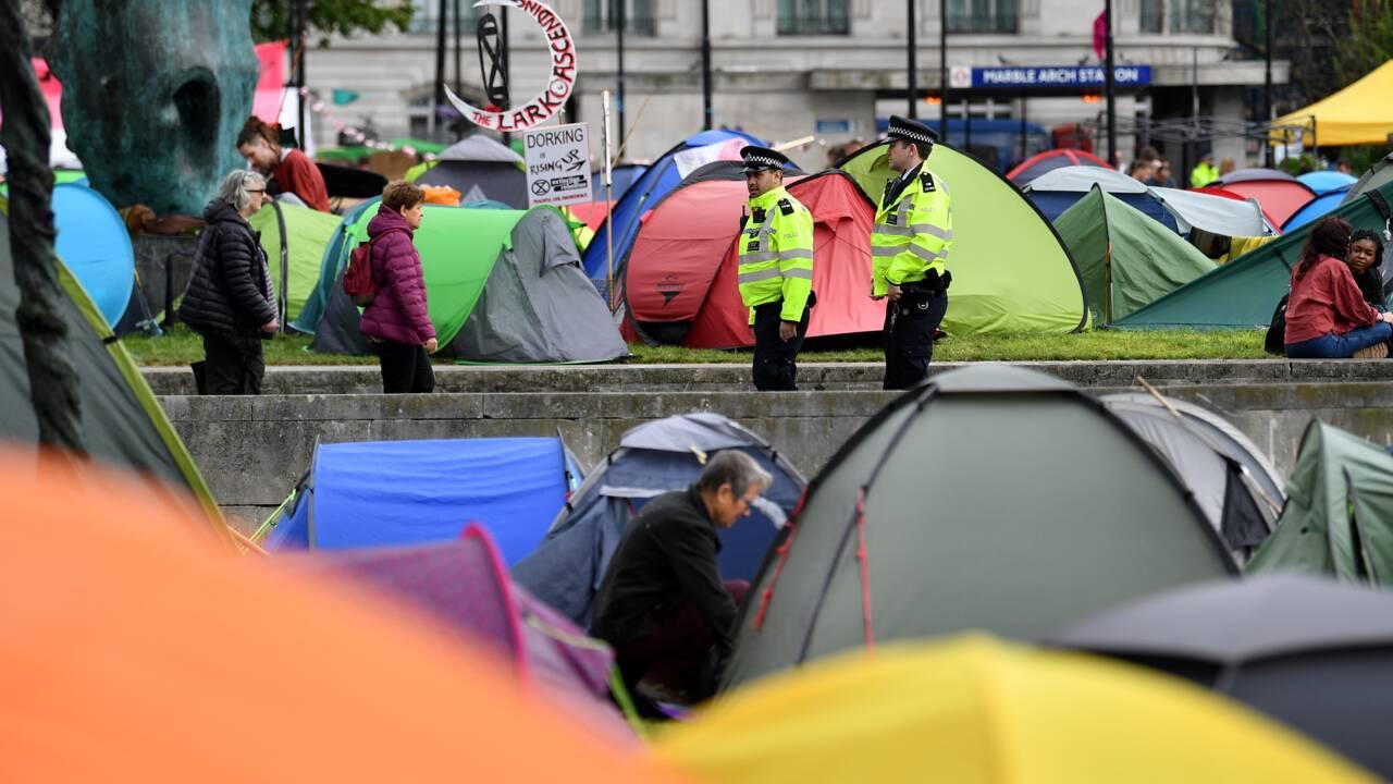 Climat: Extinction Rebellion mettra fin jeudi à ses blocages à Londres