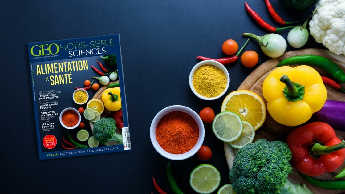 Alimentation et santé dans le nouveau hors-série GEO Sciences