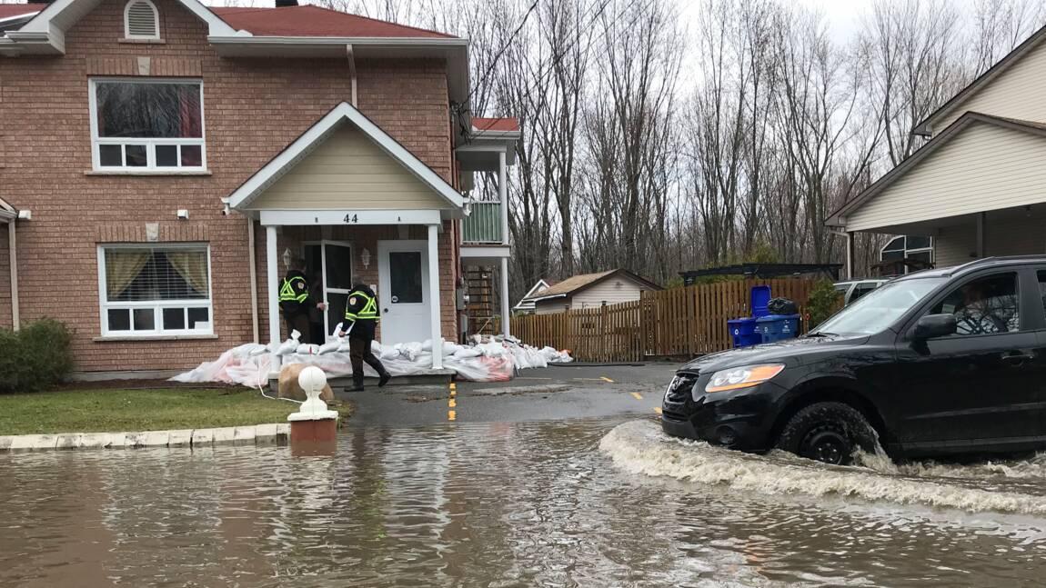 Deux inondations en deux ans: au Canada, la lassitude des habitants de Gatineau