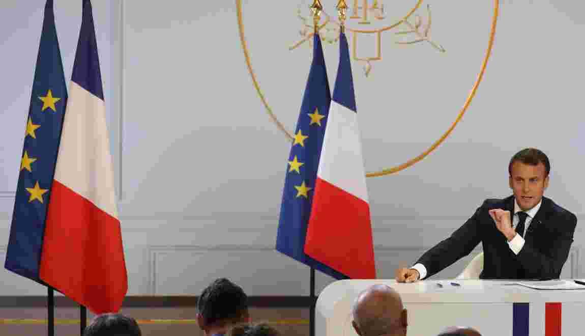 """Climat: Macron veut mettre en place un """"conseil de défense écologique"""""""