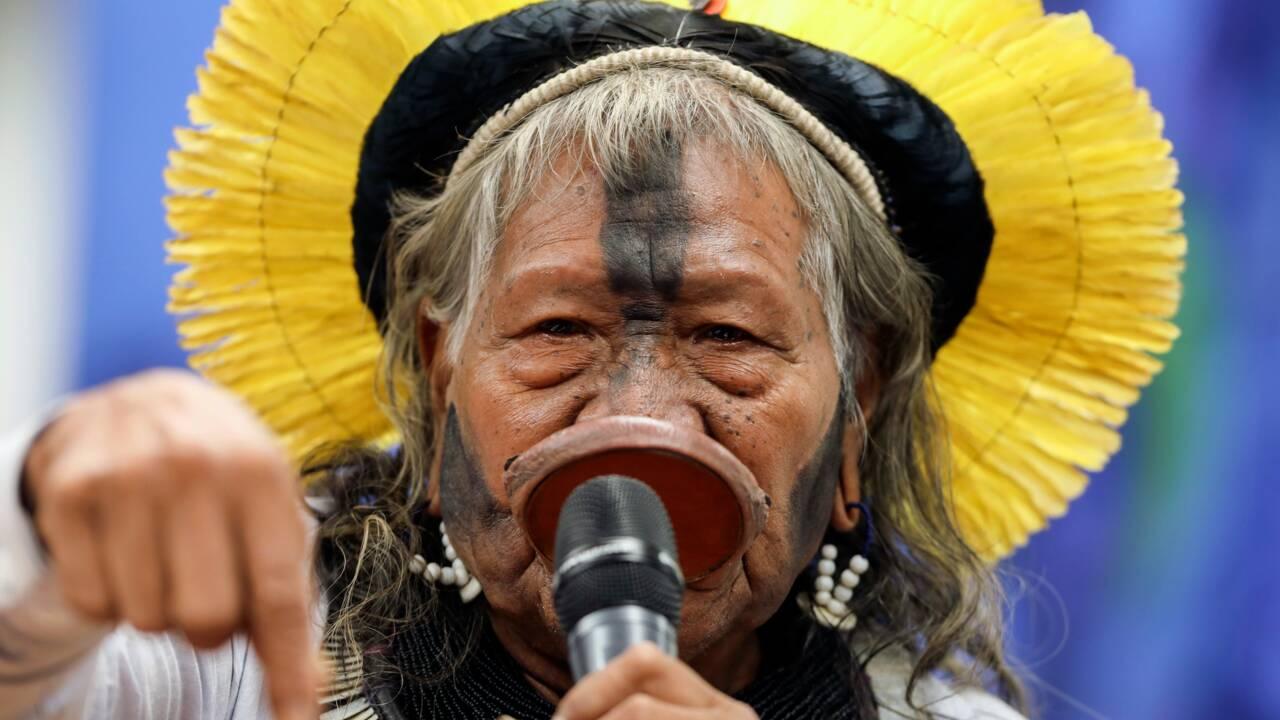 Brésil: faible affluence au Congrès pour recevoir les indigènes