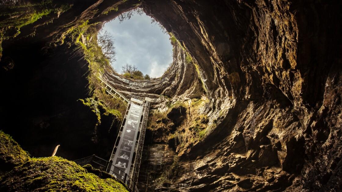 Le gouffre de Padirac célèbre les 130 ans de sa découverte avec Robert Doisneau