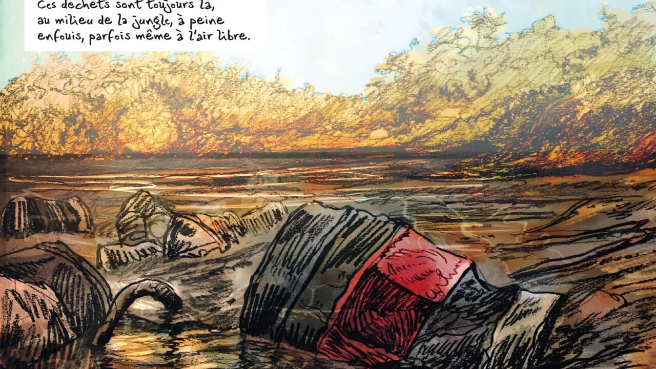Une BD magistrale sur les ravages de la firme pétrolière Texaco en Amazonie équatorienne