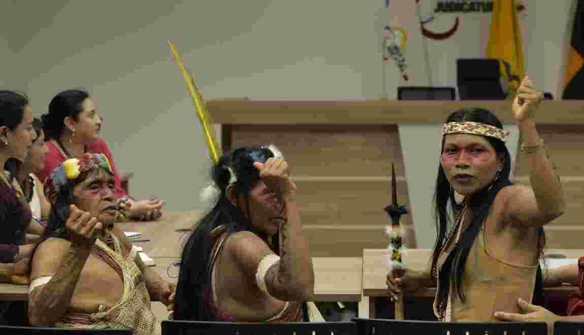 Indigènes contre le pétrole en Amazonie: l'Equateur fera appel