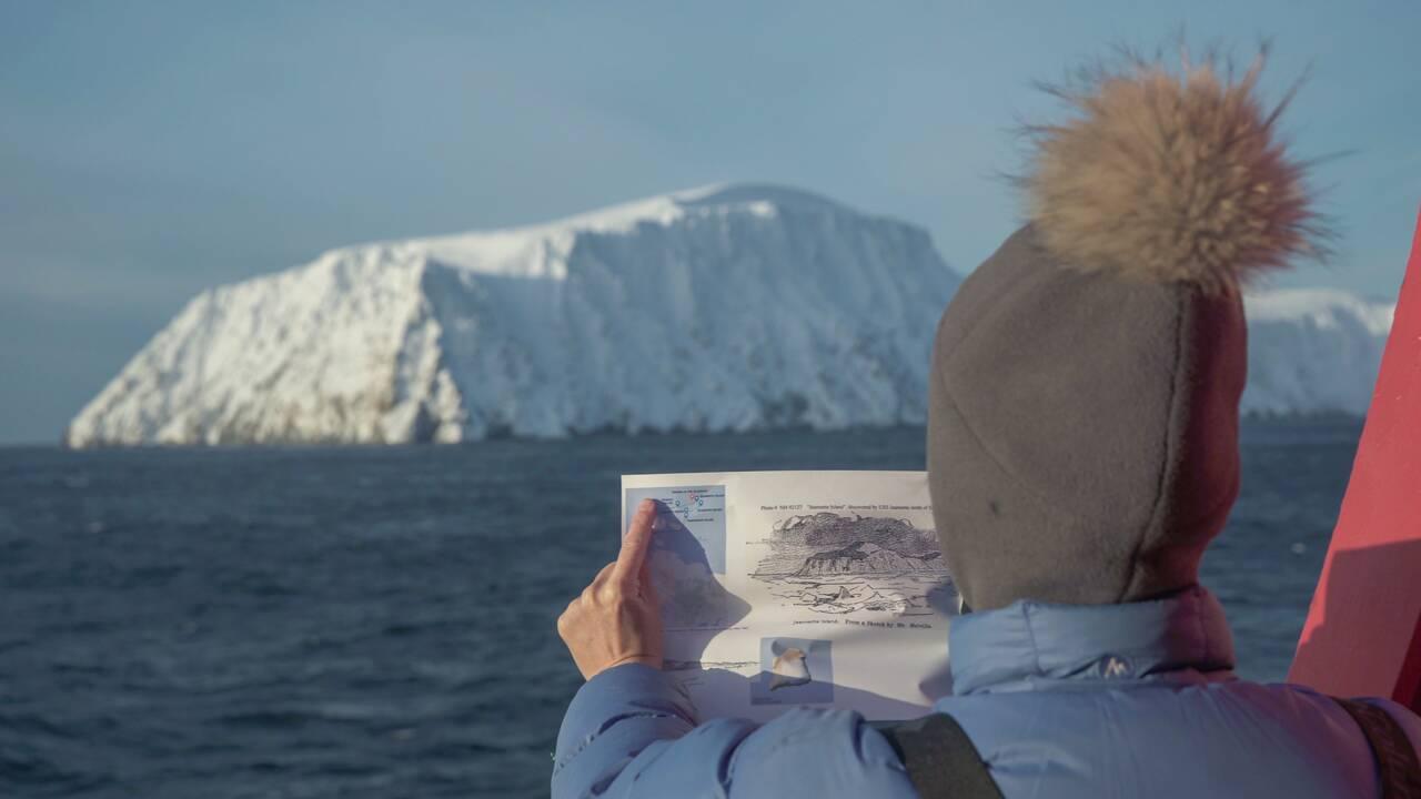 """Aurore Asso, apnéiste sous glace : """"J'ai plongé dans le sillage d'un explorateur de l'Arctique"""""""