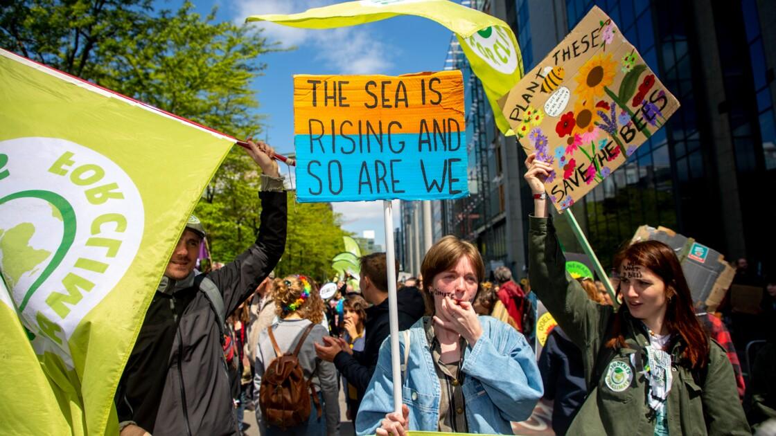 Climat : nouvelle marche à Bruxelles pour faire pression sur les politiques