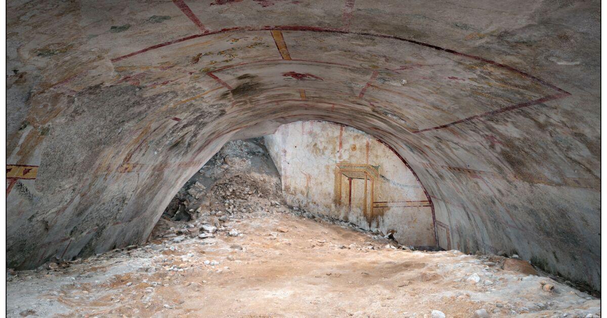 A Rome, le palais de Néron révèle une salle secrète oubliée depuis 2.000 ans