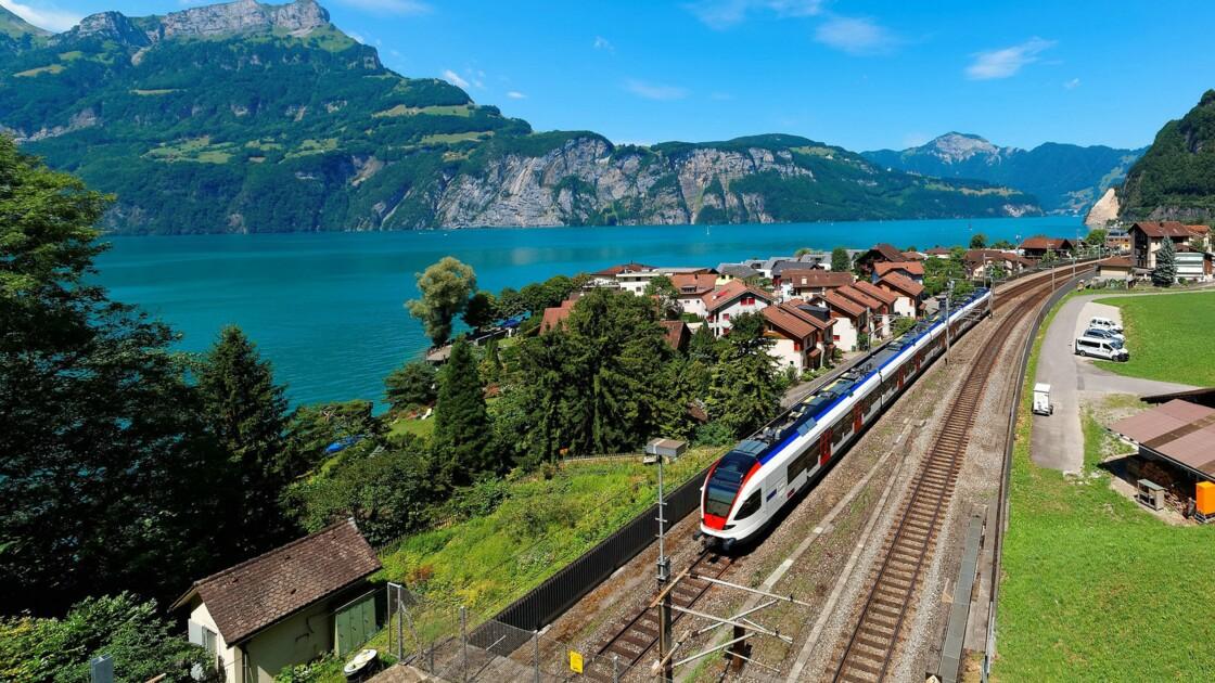 L'Union européenne offre des pass Interrail pour voyager en train à travers l'Europe