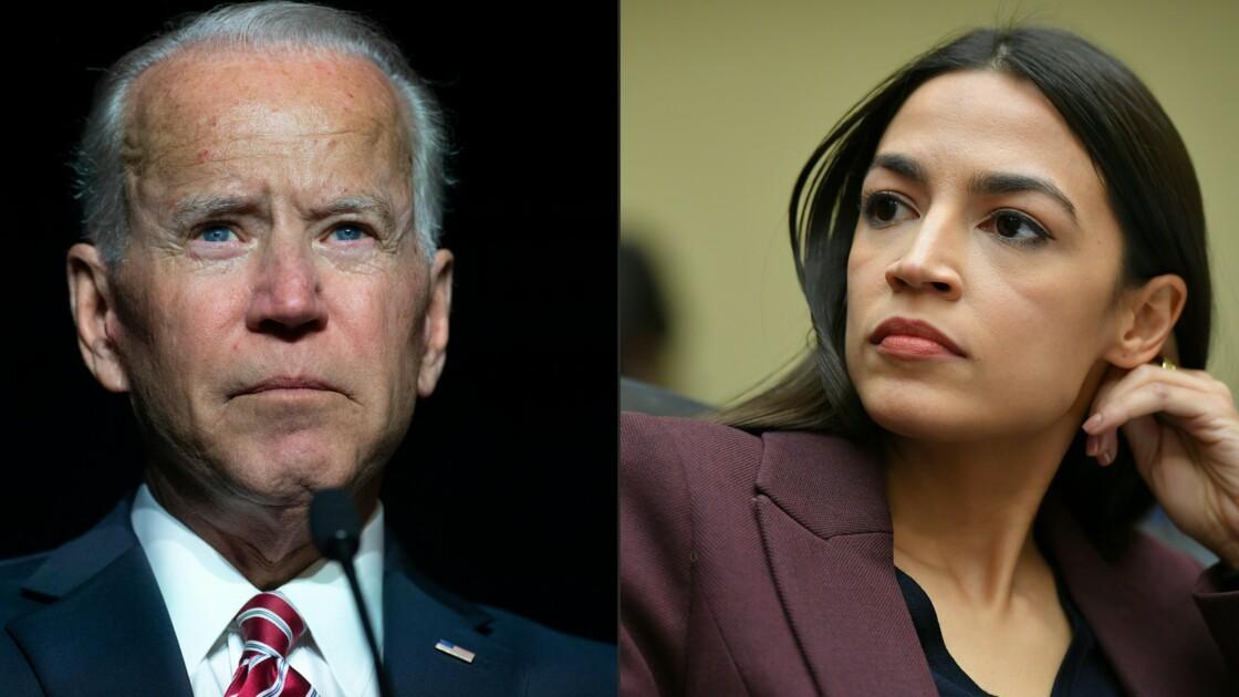 Passe d'armes entre Biden et l'aile gauche du parti démocrate américain