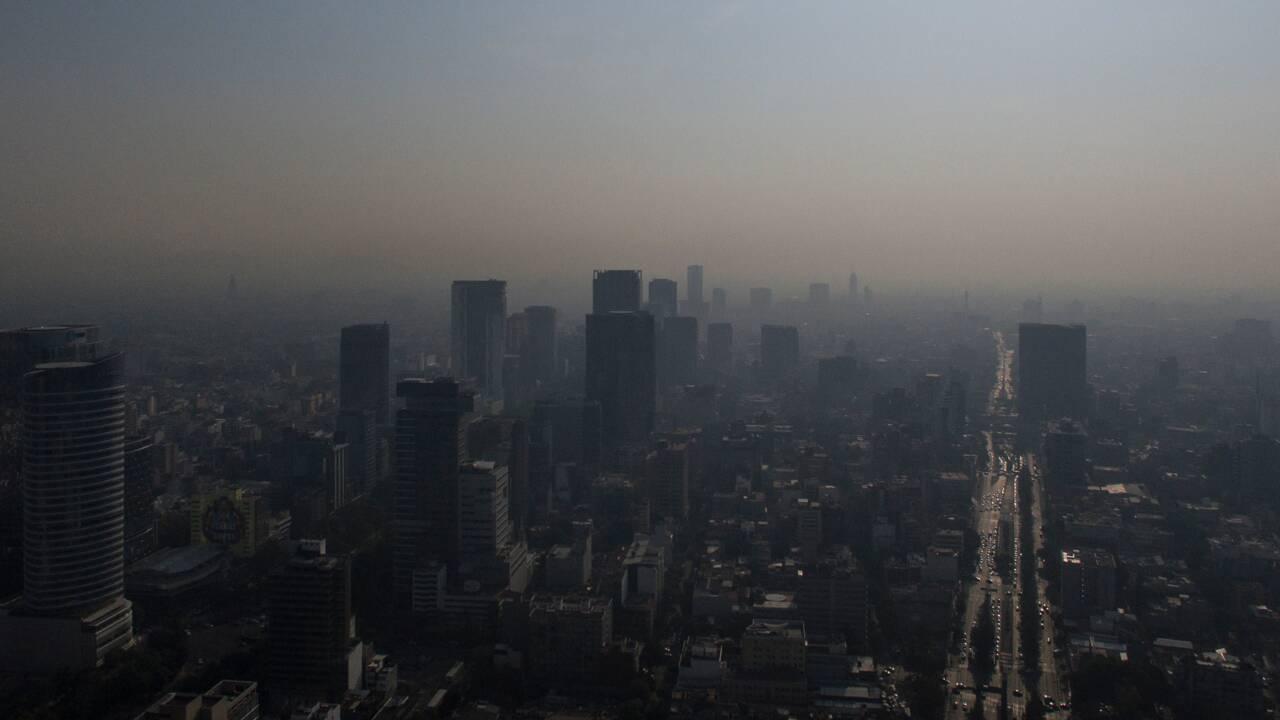 Nuage de pollution à Mexico: alerte déclenchée, demi-finale de foot reportée