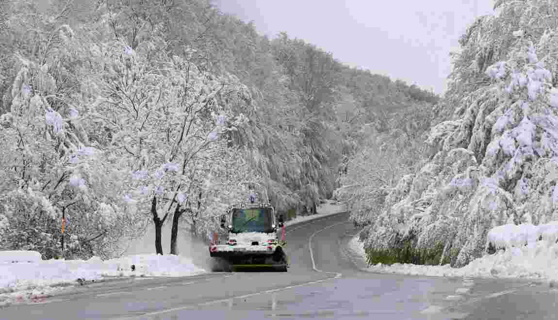 Des sommets corses sous la neige, nouveau record de froid pour mai