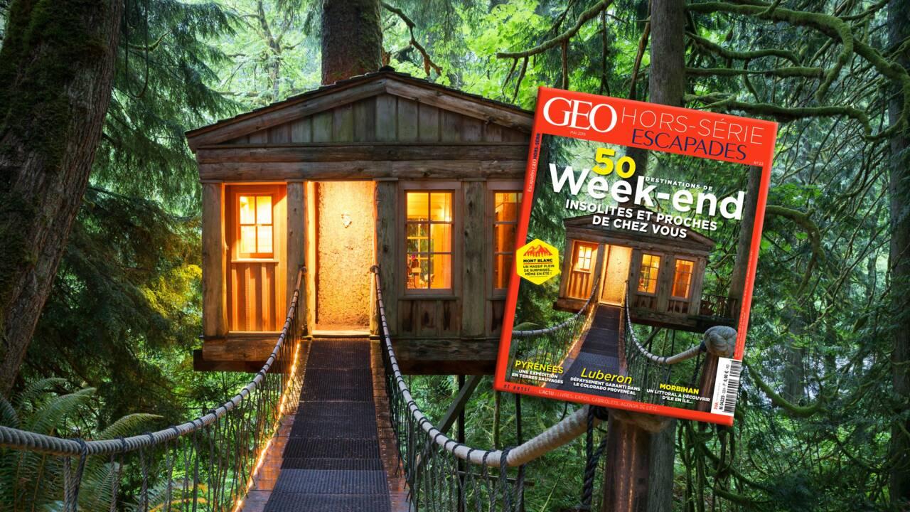 50 destinations de week-end dans le nouveau hors-série GEO Escapades