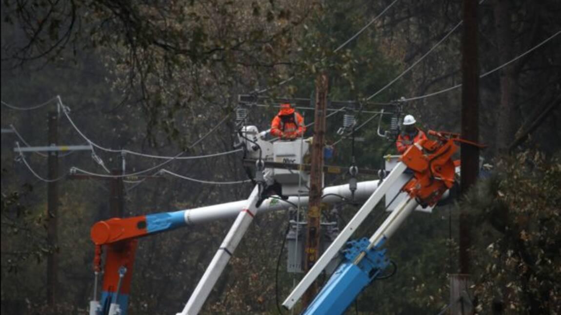 Californie: l'incendie meurtrier de novembre déclenché par des lignes électriques (pompiers)