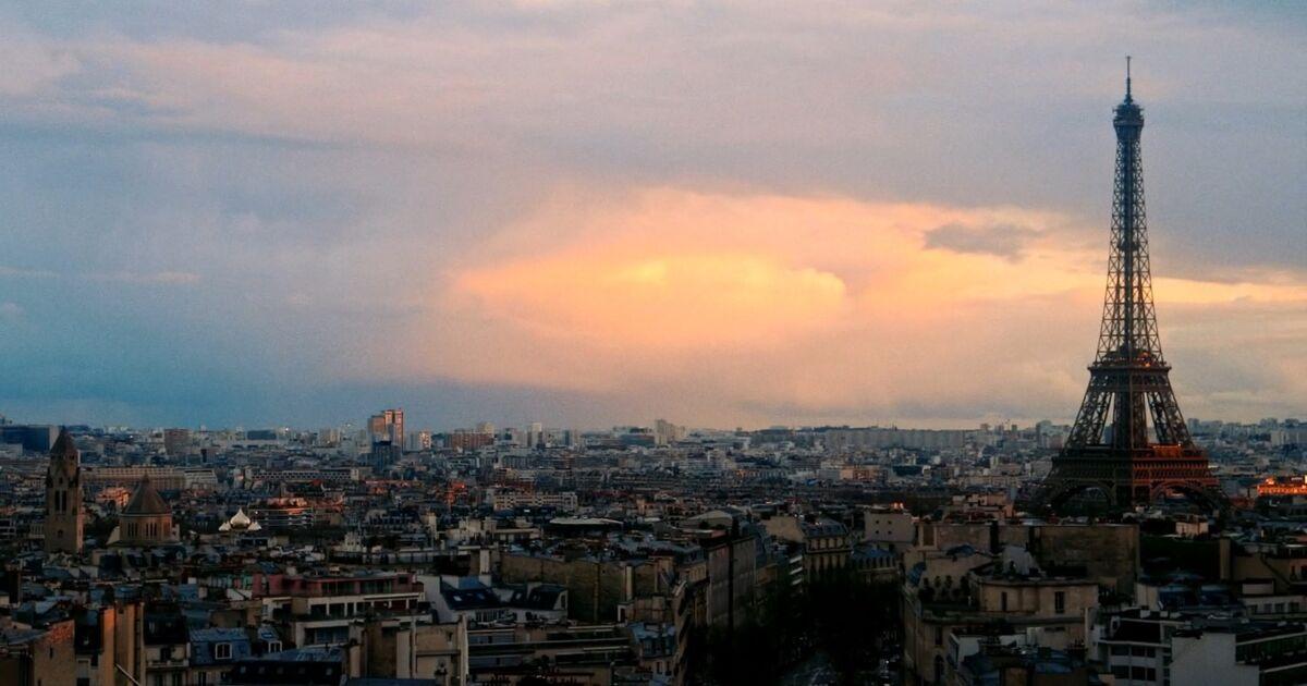 Des images féeriques sous le ciel de Paris