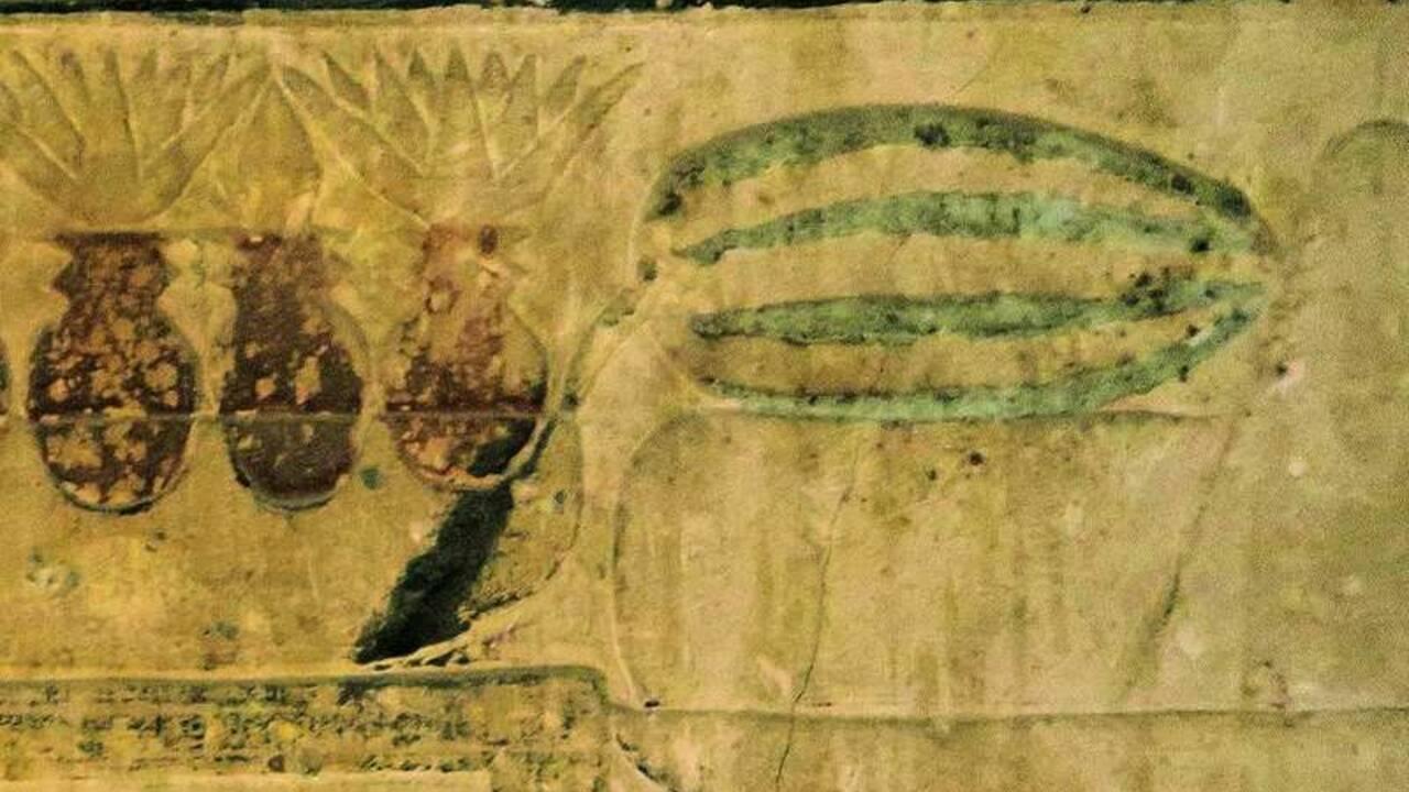 Des chercheurs éclairent les origines de la pastèque grâce... à une tombe vieille de 3500 ans