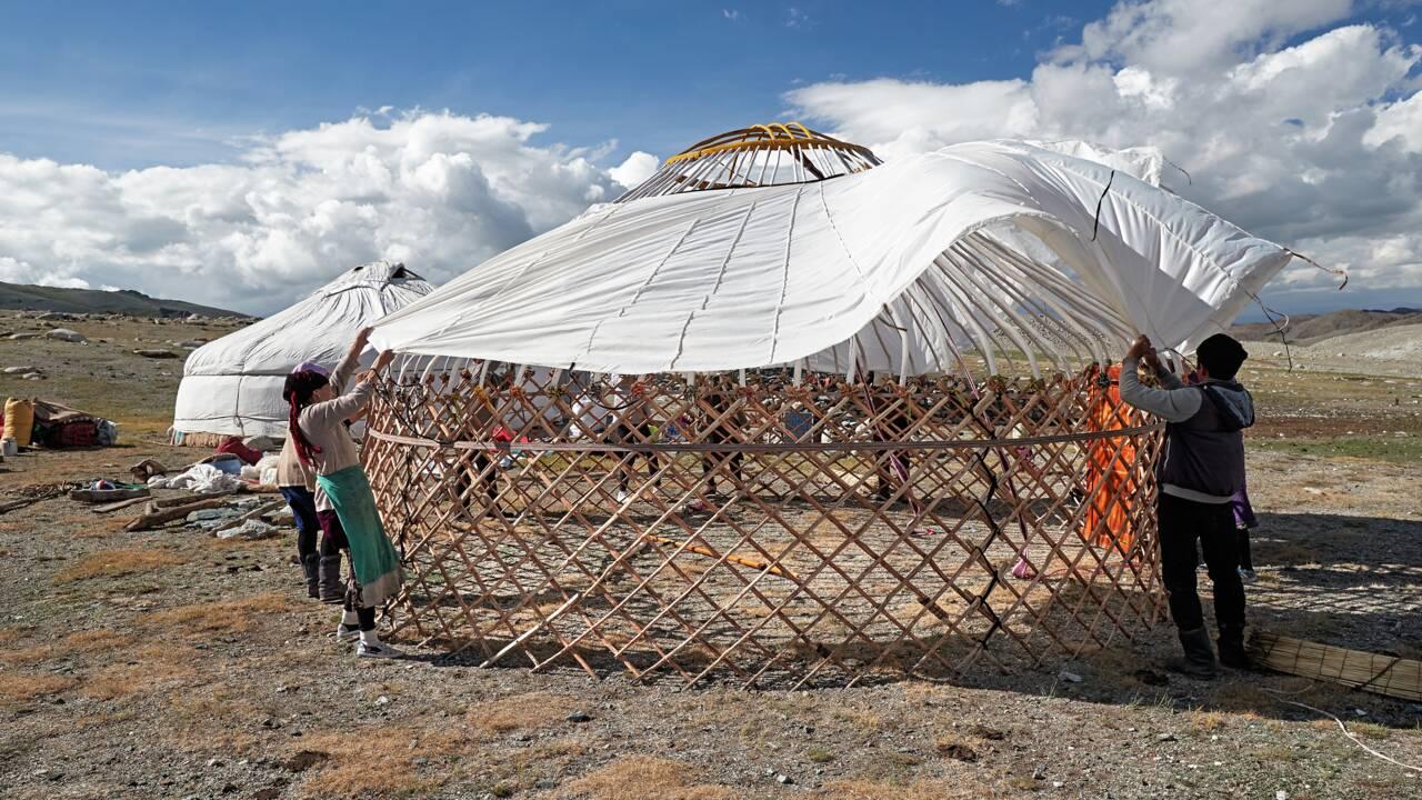 Tuto : monter une yourte comme les nomades de la steppe mongole
