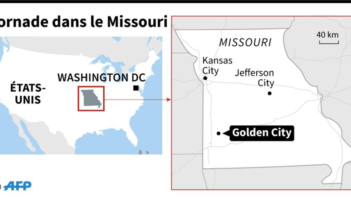 Etats-Unis: une tornade fait trois morts dans le Missouri