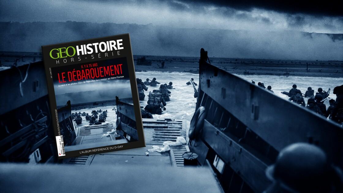 Il y a 75 ans, le Débarquement : le récit et les photos chocs dans le nouveau hors-série GEO Histoire